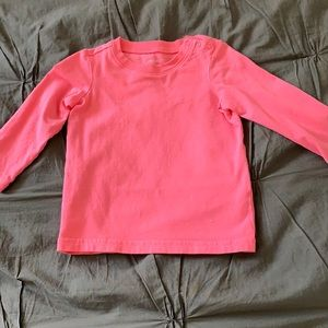 Primary Long Sleeve Pink/Coral Shirt